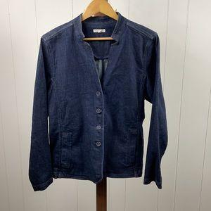 Eileen Fisher Denim Jacket Organic Cotton